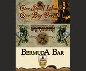 Bermuda Bar One Big Island One Big Party - tagged with statue