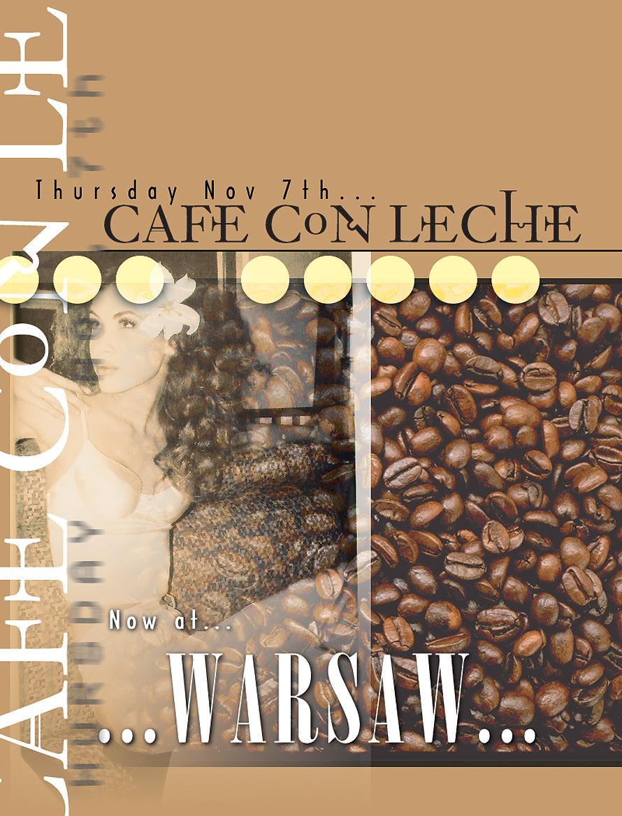 Cafe Con Leche at Warsaw