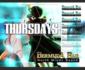 Thursdays at Bermuda Bar - tagged with el zol 95 logo