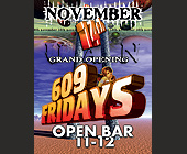 Bar 609 Grand Opening - tagged with Club-609