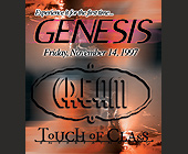 Genesis at Cream - 700x800 graphic design