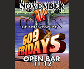 609 Fridays at Bar 609 - tagged with Cool letters