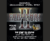 Christmas Break Blowout II at Warsaw - created December 1997