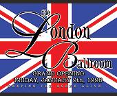 The London Ballroom Grand Opening - nightclub flyers Graphic Designs