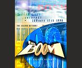 Saturday La Boom the Legend Returns - nightclub flyers Graphic Designs