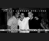 Emilio Guerra's Birthday - tagged with gray scale