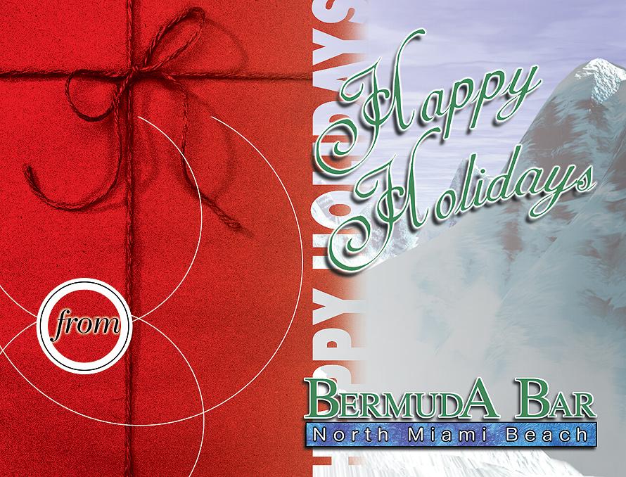Happy Holidays from Bermuda Bar