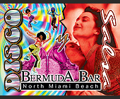 Disco at Bermuda Bar - Bermuda Bar Graphic Designs