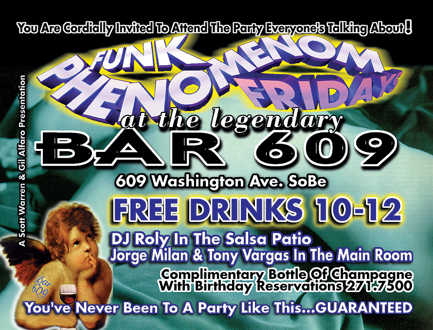 Funk Phenomenon Friday at Bar 609