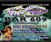 Funk Phenomenon Friday at Bar 609 - created July 1997