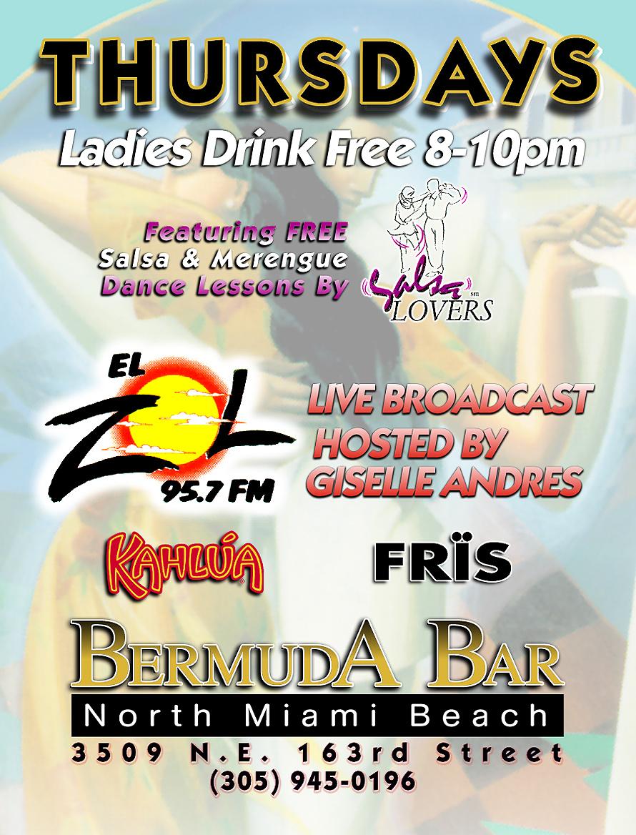 Thursdays at Bermuda Bar