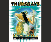 Thursdays at Bermuda Bar - Bermuda Bar Graphic Designs