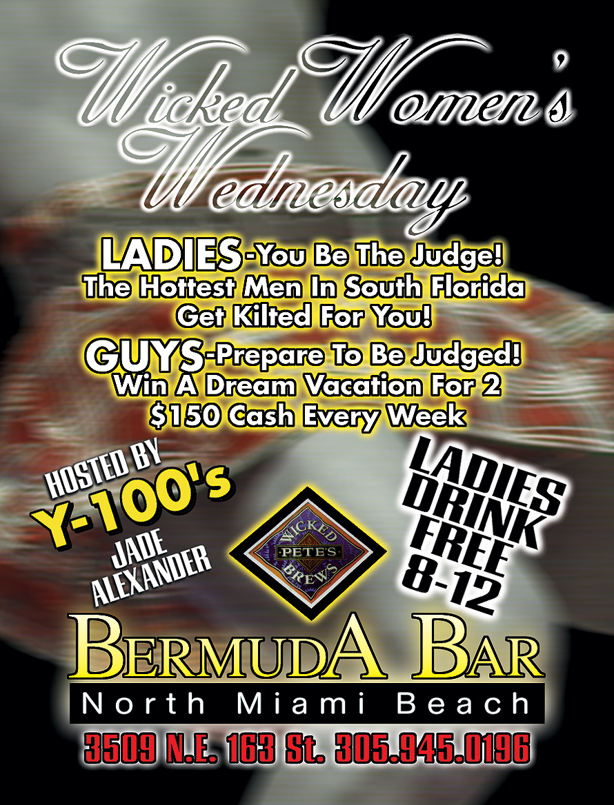 Wicked Women's Wednesday at Bermuda Bar
