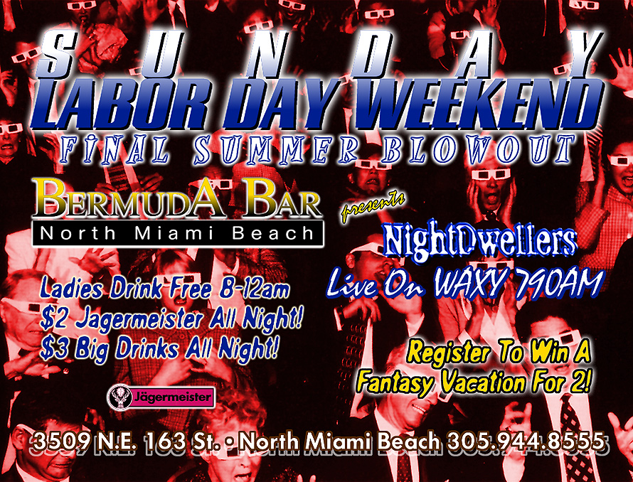 Labor Day Weekend Final Summer Blowout