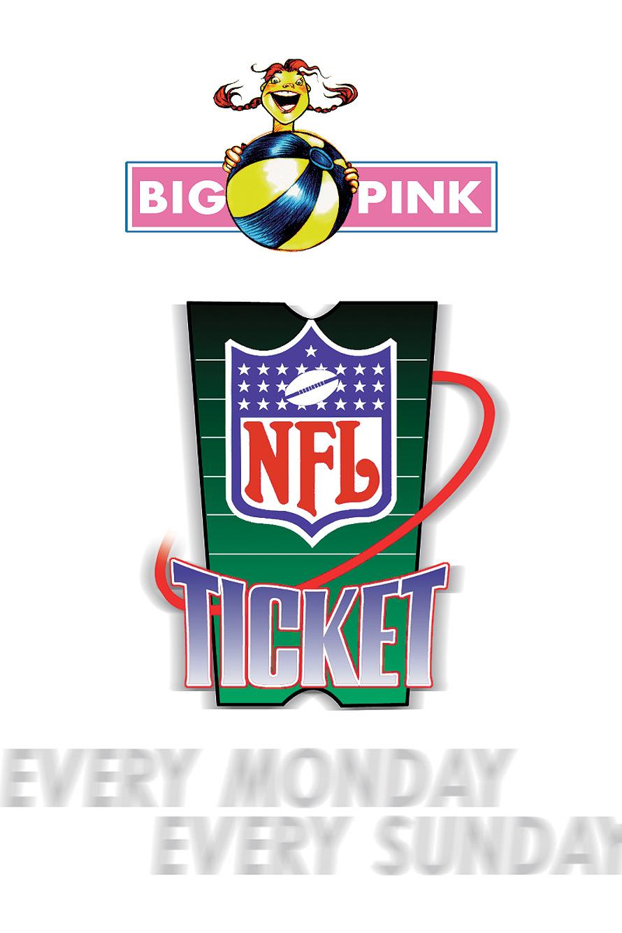 NFL Big Pink Ticket