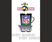 NFL Big Pink Ticket - created 1997