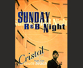 Sunday R & B Night at Cristal Nightclub - tagged with Wine Glass