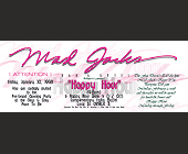 Mad Jacks Happy Hour - Mad Jacks Graphic Designs