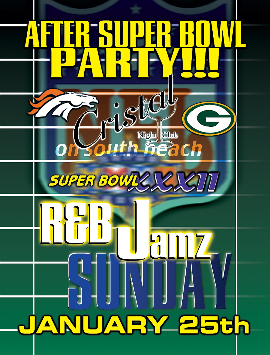 After Super Bowl Party at Cristal Nightclub