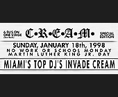 Miami's Top DJ's Invade Cream - created January 1998