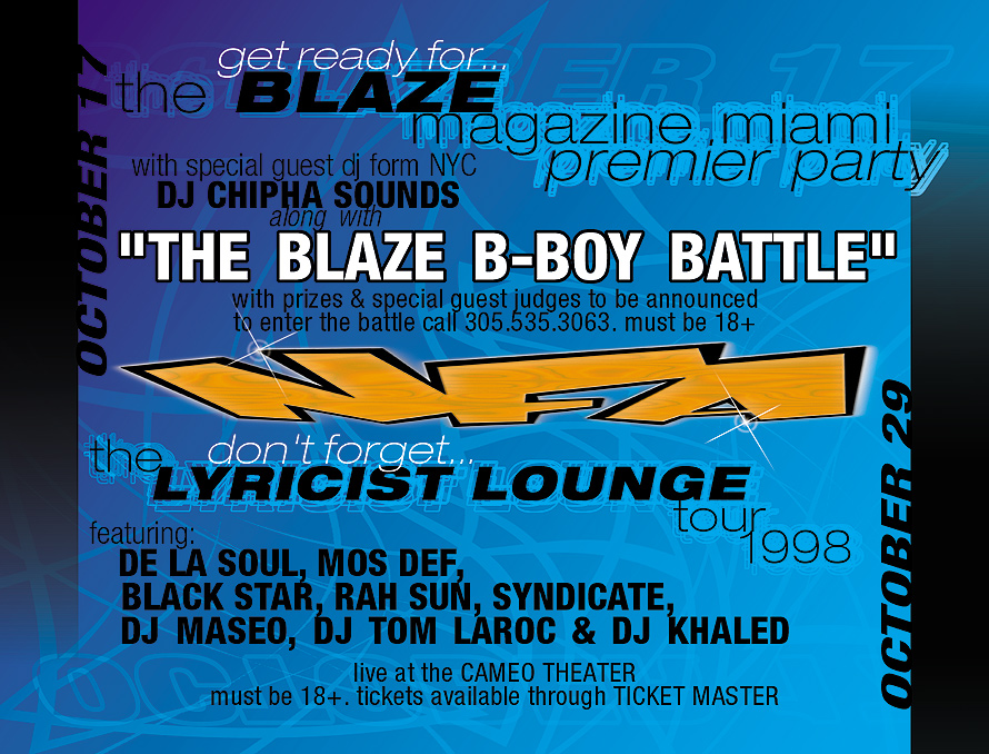 NFA Blaze B-Boy Battle