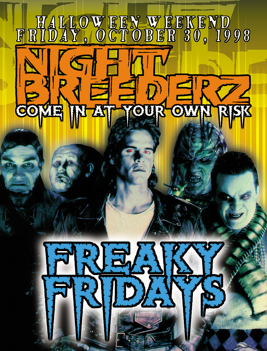 Club Zen Nightbreederz Freaky Fridays