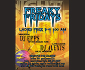 Club Zen Nightbreederz Freaky Fridays - Reggae Graphic Designs
