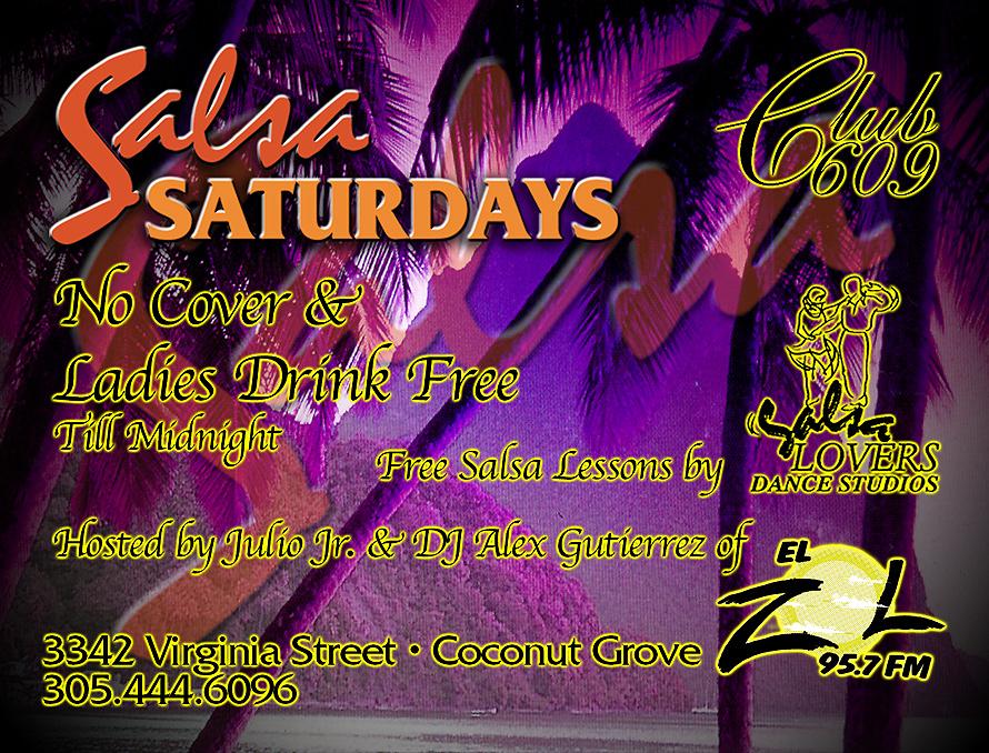 Salsa Saturdays at Club 609
