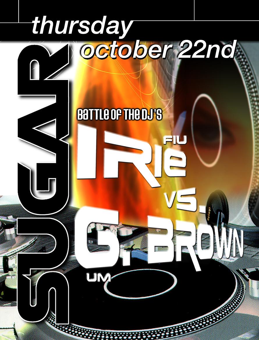 Battle of the DJs at Club St. Croix