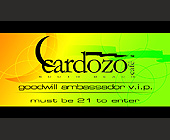 Cardozo Cafe Goodwill Ambassador - created October 1998