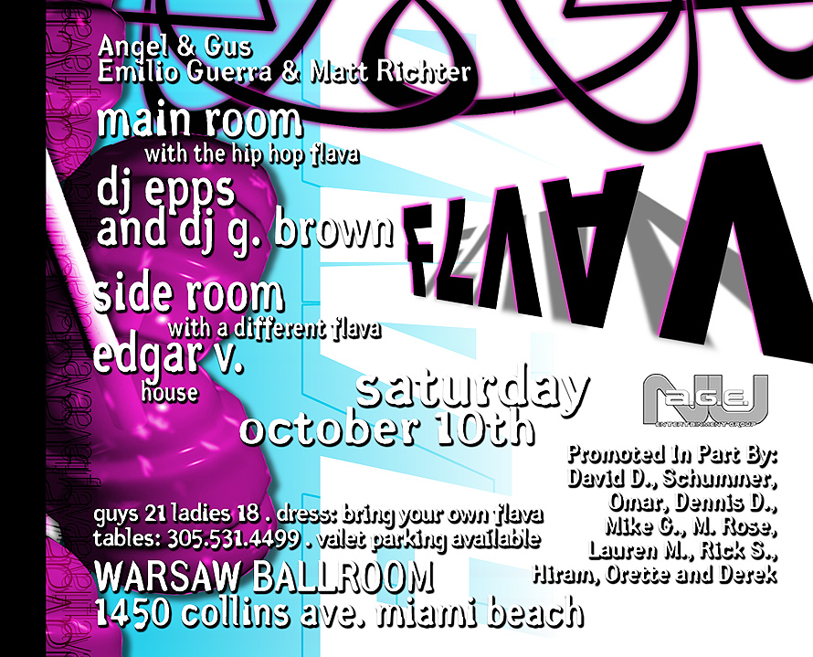 Flava Event at Warsaw Ballroom