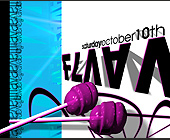 Flava Event at Warsaw Ballroom - tagged with abstract art