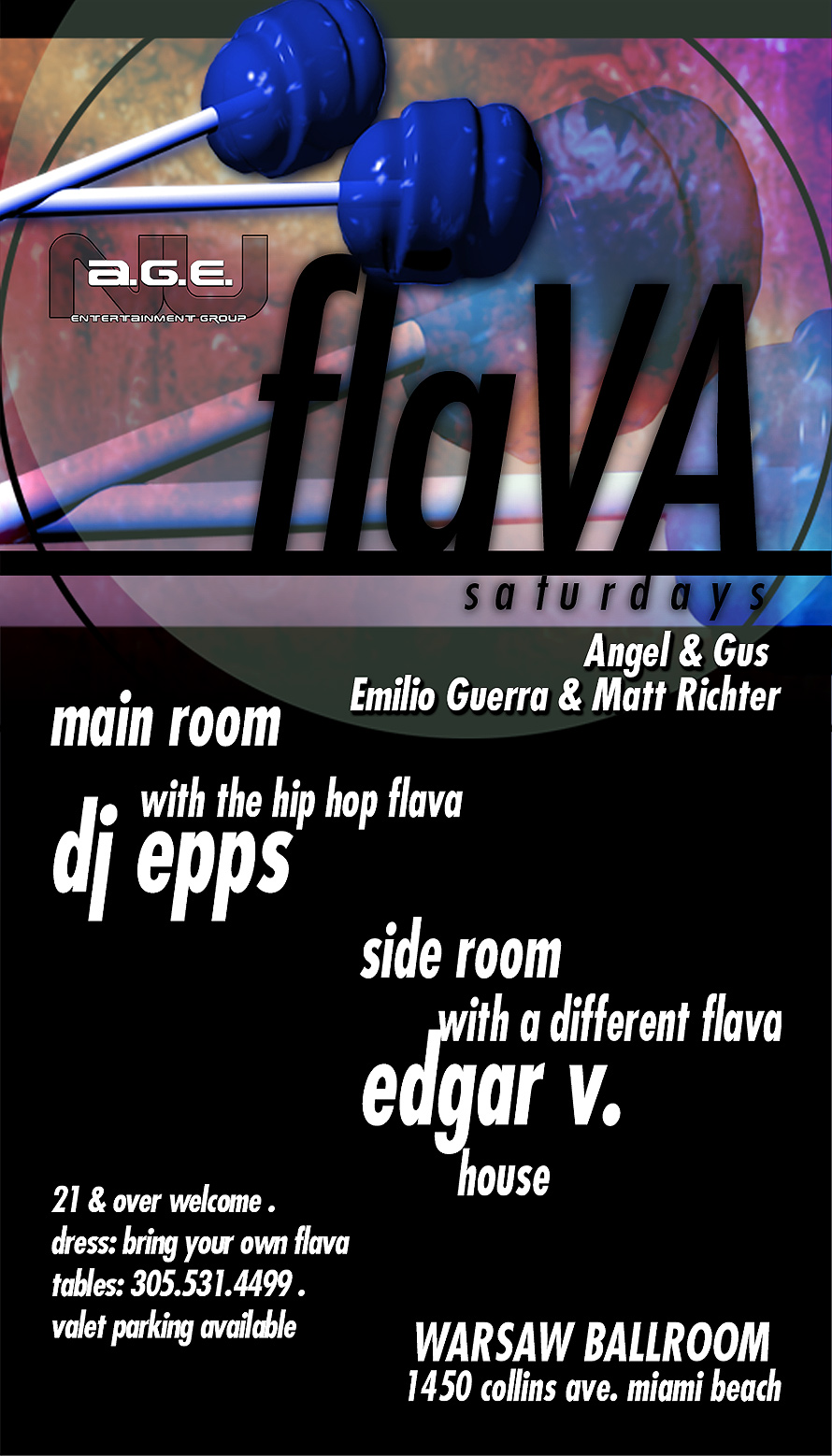 Flava Saturdays at Warsaw Ballroom