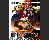 First Platoon Hip Hop Sundaes - tagged with complimentary admission