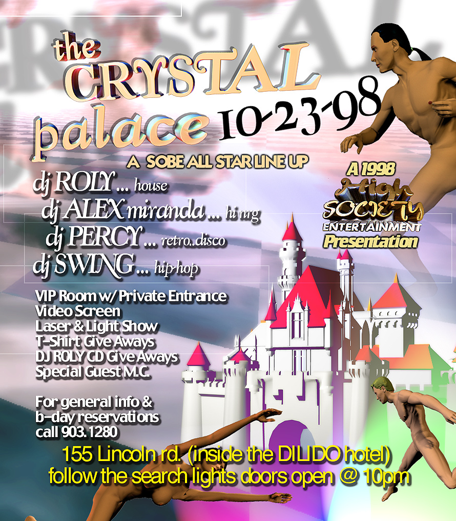 Crystal Palace Opening