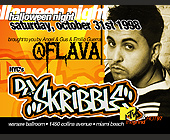 Halloween Night Flava at Warsaw with DJ Skribble - tagged with valet parking available
