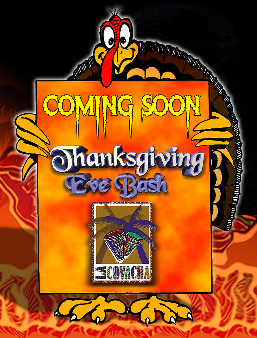 La Covacha Thanksgiving Eve and Halloween Bash