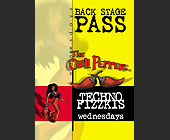 Techno Fizzkis Backstage Pass at The Chili Pepper - tagged with the chili pepper