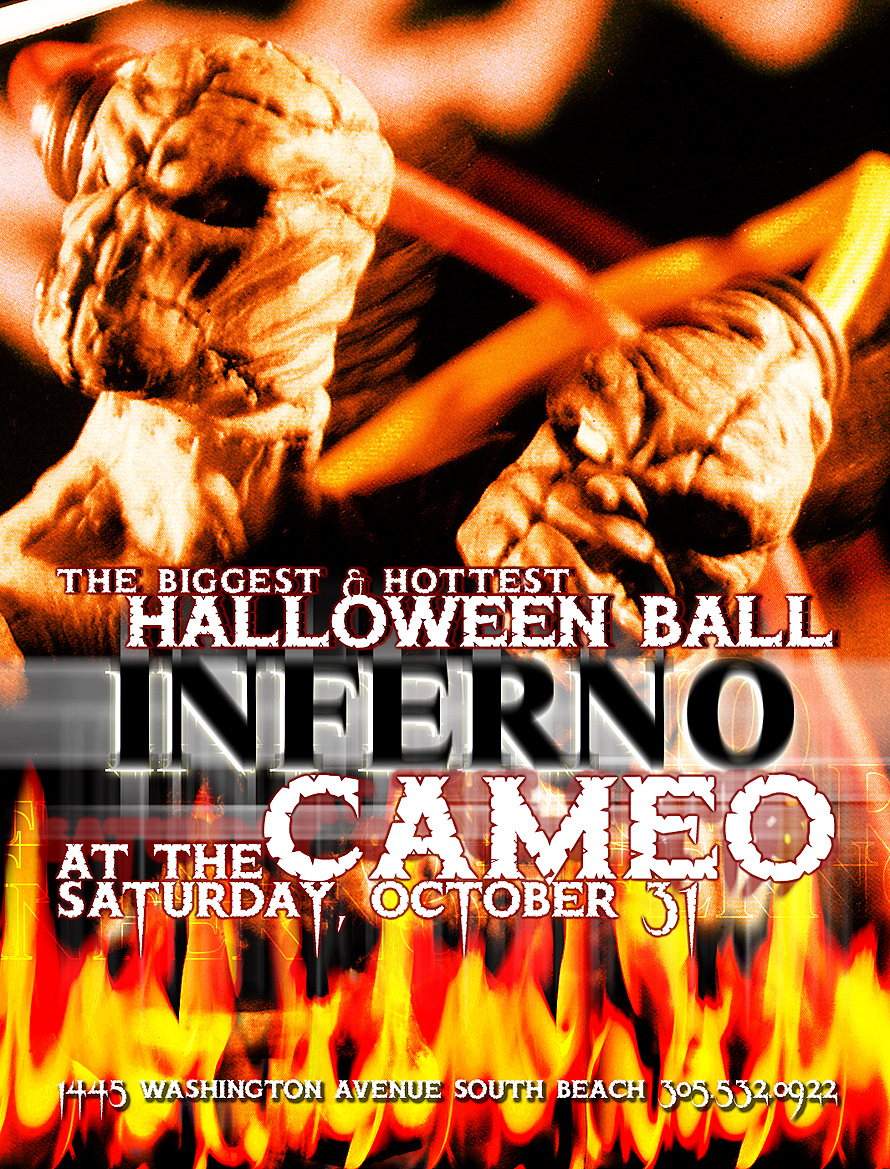 Halloween Ball Inferno at the Cameo
