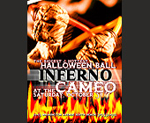 Halloween Ball Inferno at the Cameo - Reggae Graphic Designs