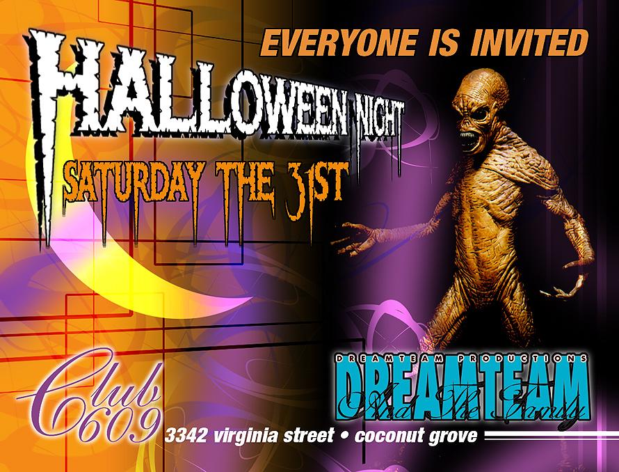Halloween Night at Club 609