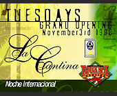 Grand Opening at Cafe Iguana - 1313x1000 graphic design