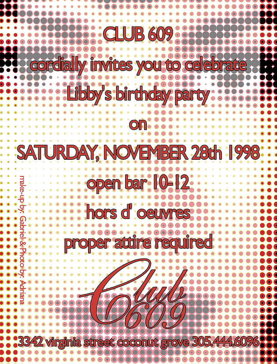 Libbys Birthday Bash at Club 609