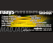 Saturdays on Mad Jacks - tagged with room