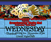 Thanksgiving Eve at Cristal Nightclub - tagged with over