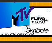 MTV Flava Saturday at Warsaw - 1397x1037 graphic design