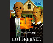 Butterball at Liquid Nightclub - 1200x1575 graphic design