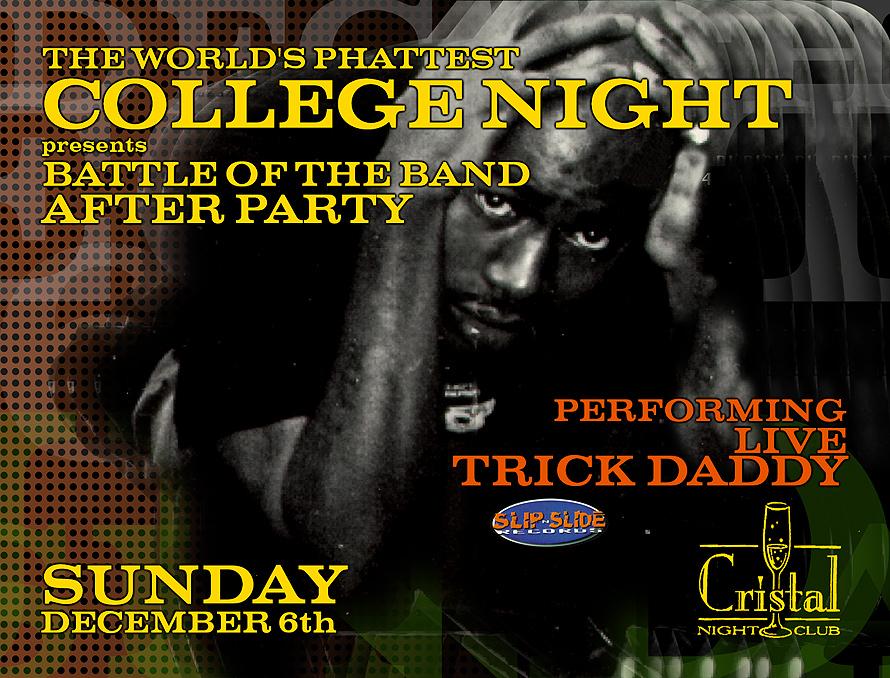 The World's Phattest College Night at Cristal Nightclub