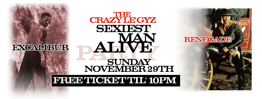 The Gracy Legyz Sexiest Man Alive Party