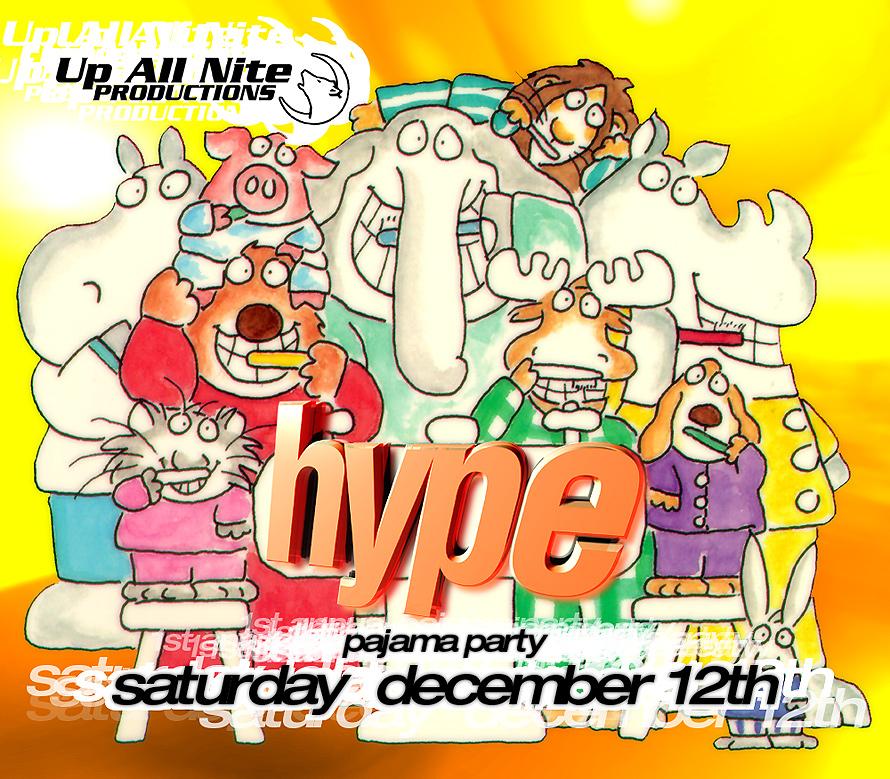 Amnesia Hype Pajama Party